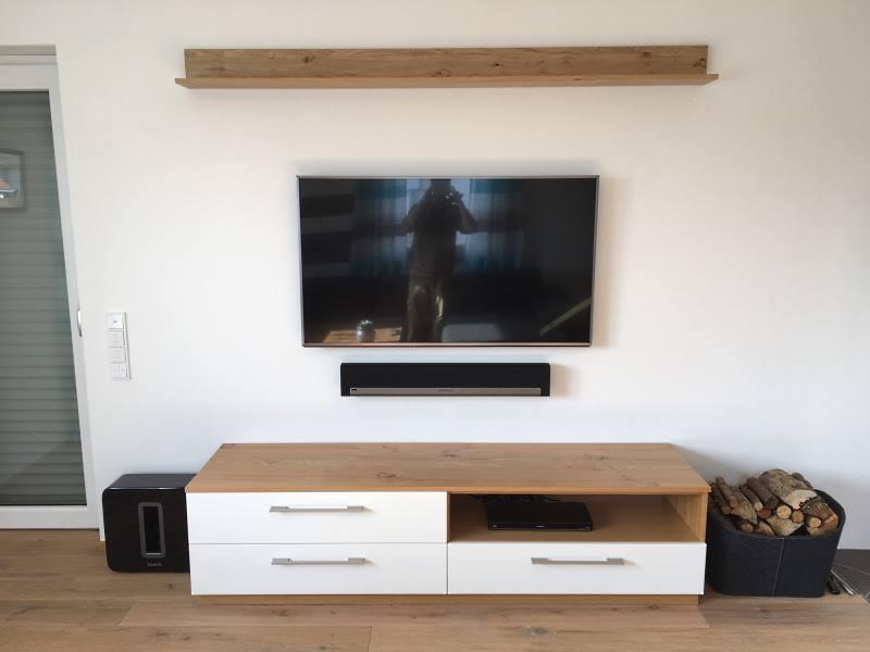 Fernseh Ecke im Wohnzimmer - Bild1