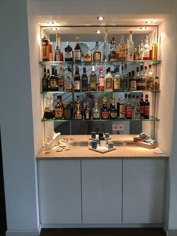 Getränkeschrank vom Schreiner für die Küche - Bild2